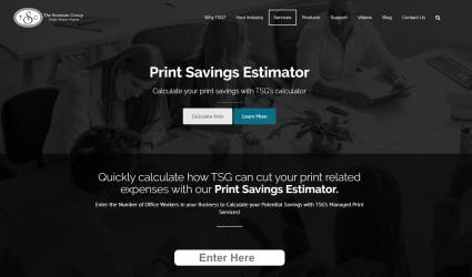 The Swenson Group Print Saving Estimator