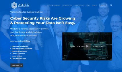 Allied Business Solutions Website